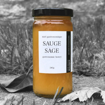 Miel Sauge - Sage Honey - Fermemosaique